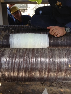 A cracked contaminated water pipe in a Power Plant is returned to full working order
