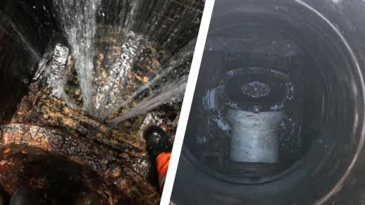 The repair of a leaking underground water main which had proven impossible to fix for 15 years before SylWrap came up with a solution