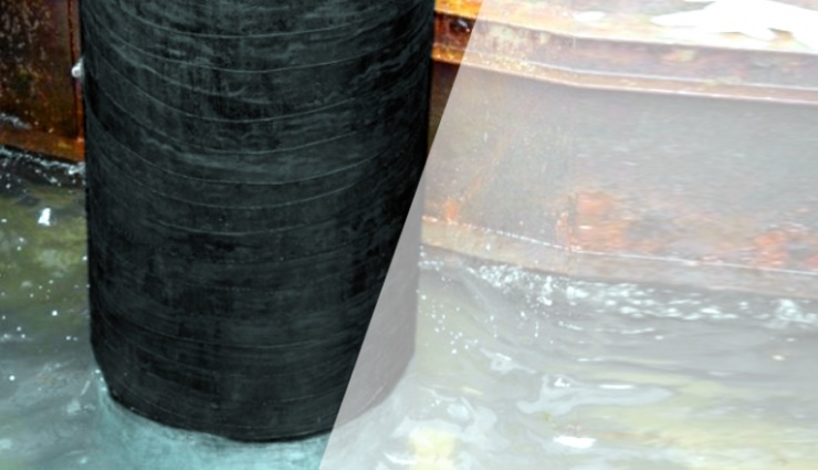 SylWrap CR Corrosion Protection & Repair Wrap can used to repair and strengthen structures from corrosion