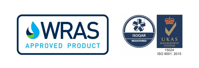 SylWrap Products are WRAS approved and IS0 9001 accredited