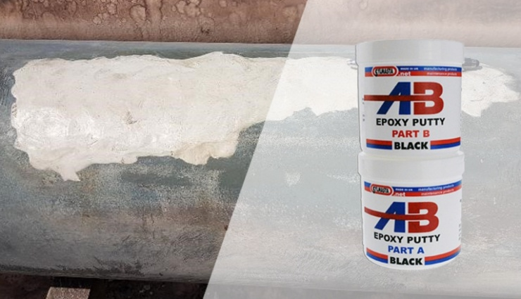 Sylmasta AB epoxy putty has a long work time for carrying out large and complex pipe repairs