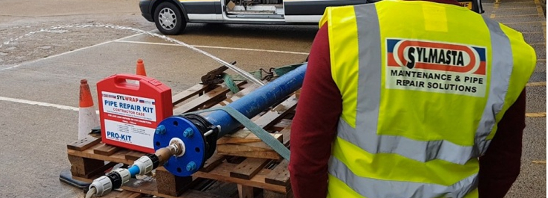 The Sylmasta Pipe Repair roadshow demonstrates how a SylWrap Pipe Repair Kit can be used to permanently repair leaking pipes