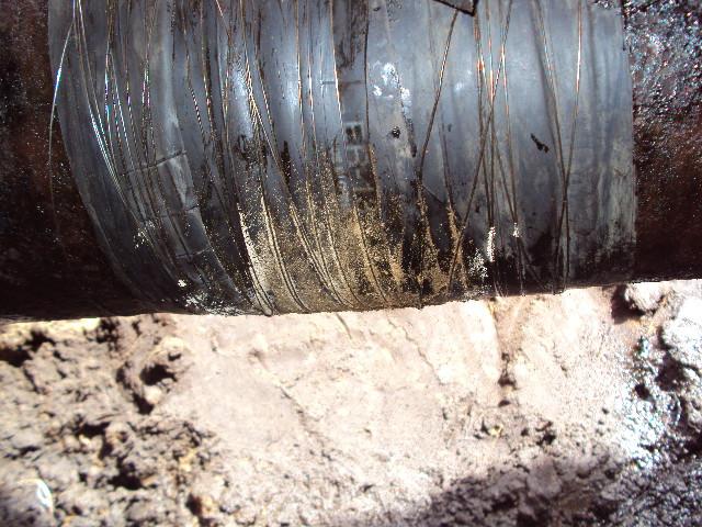 Wrap & Seal Pipe Burst Tape used to repair a fuel oil line in Libya