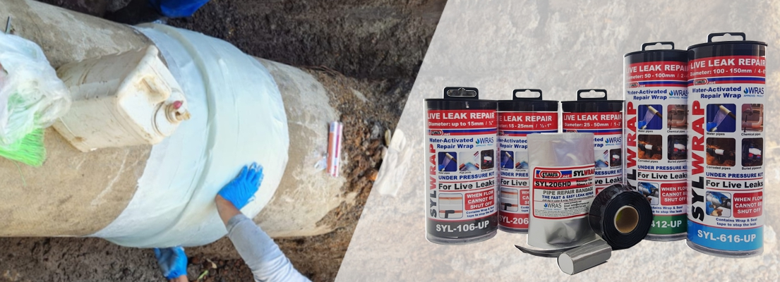 Stockists of SylWrap Pipe Repair Kits can be found across theUnited Kingdom and worldwide